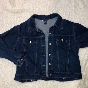 Adriana sport jean jacket!